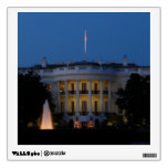 Christmas White House at Night in Washington DC Wall Decal