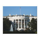 Christmas White House for Holidays Washington DC Canvas Print