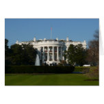 Christmas White House for Holidays Washington DC Card
