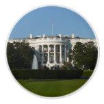 Christmas White House for Holidays Washington DC Ceramic Knob