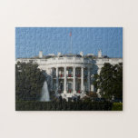 Christmas White House for Holidays Washington DC Jigsaw Puzzle