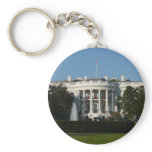 Christmas White House for Holidays Washington DC Keychain