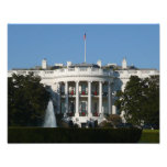 Christmas White House for Holidays Washington DC Photo Print