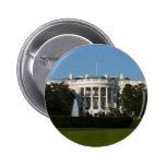 Christmas White House for Holidays Washington DC Pinback Button