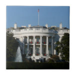 Christmas White House for Holidays Washington DC Tile