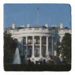 Christmas White House for Holidays Washington DC Trivet