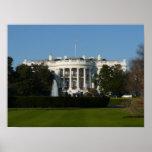 Christmas White House Print
