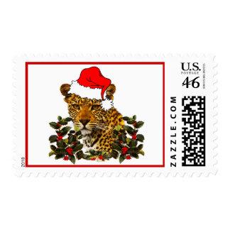 Christmas Wildcat Stamp