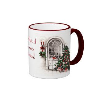Christmas Window Lights Photo Mug