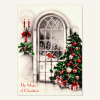Christmas Window Party Invitation