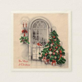 Christmas Window Party Napkins