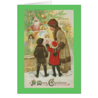 Christmas Window Shopping Cards