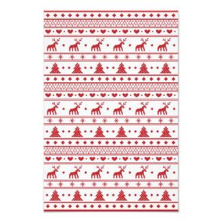 Christmas/Winter pattern Photo Print