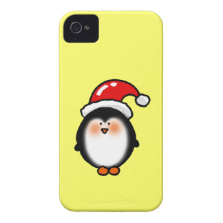 Christmas winter penguin iPhone 4 cover