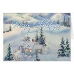 CHRISTMAS WINTER SCENE by SHARON SHARPE Cards