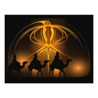 Christmas Wise Men Golden Star of Bethlehem Flyer