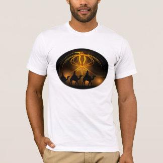Christmas Wise Men Golden Star of Bethlehem T-Shirt