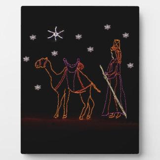Christmas Wiseman Camel 1 2016 Plaque