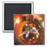 Christmas Wish 2 Inch Square Magnet