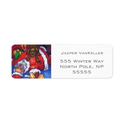 Christmas Wish Custom Return Address Label