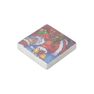 Christmas Wish Stone Magnet
