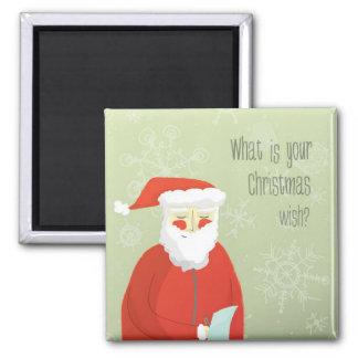 Christmas Wish List Magnet