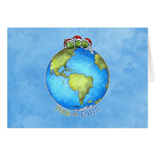 Christmas Wish - Peace on Earth Card