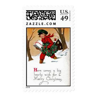 Christmas Wish Stamp