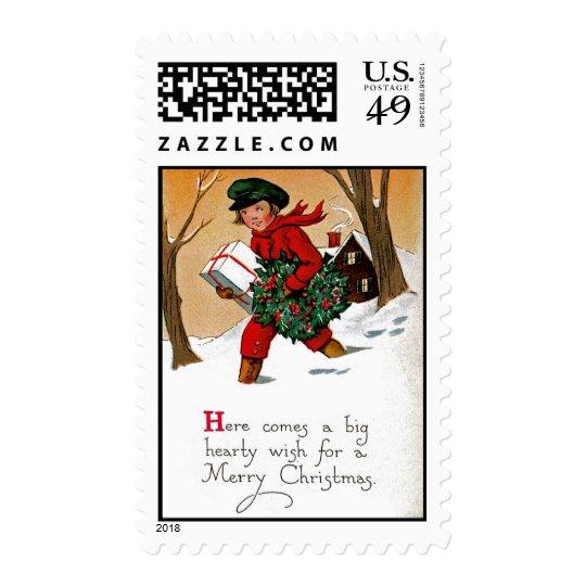 Christmas Wish Postage