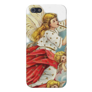 Christmas wishes angels cover for iPhone SE/5/5s