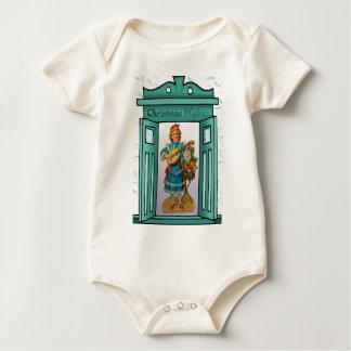 Christmas Wishes Baby Bodysuit
