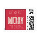 Christmas Wishes Holiday Postage Stamps