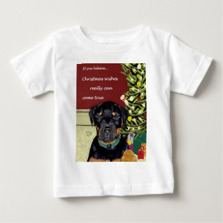 Christmas Wishes infant tee