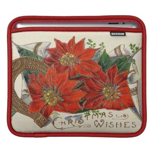 Christmas Wishes Sleeves For iPads