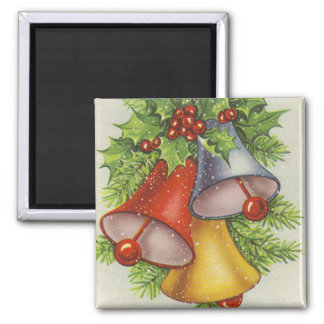 Christmas Wishes Jingle Bells Refrigerator Magnets