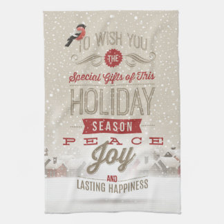 Christmas Wishes Kitchen Towel