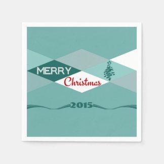 Christmas wishes napkin
