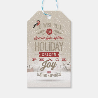Christmas Wishes Pack Of Gift Tags