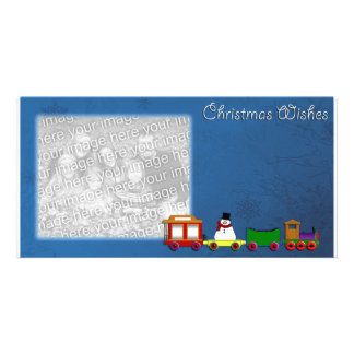 Christmas Wishes Photo Template Photo Card