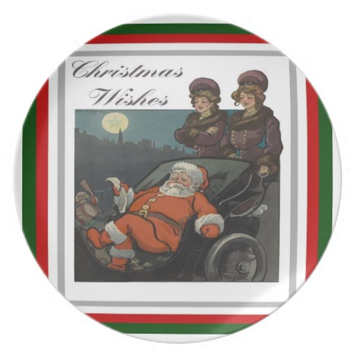 Christmas Wishes Plate