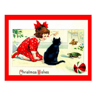 Christmas Wishes Post Cards