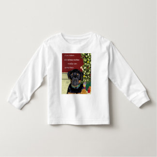 Christmas Wishes toddler long-sleeved tee