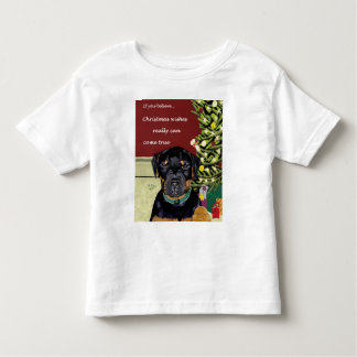 Christmas Wishes toddler tee