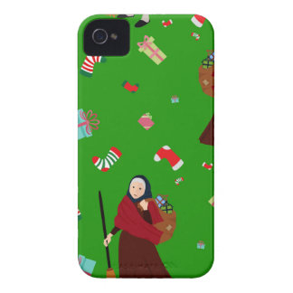 christmas witch Befana Case-Mate iPhone 4 Case