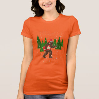 """Christmas with Bigfoot"" T-Shirt"