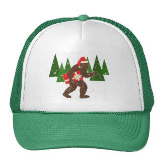 """Christmas with Bigfoot"" Trucker Hat"