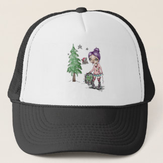 Christmas with Fran Tick & Dave the Bat Trucker Hat