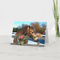 """""""Christmas With Friends"""" Greeting Card"""