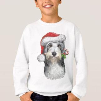 Christmas With Jazz The Bearded Collie Sweatshirt
