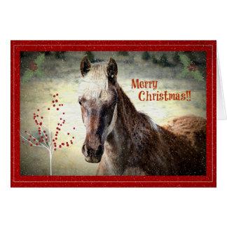 Christmas with Mazerati!  Card